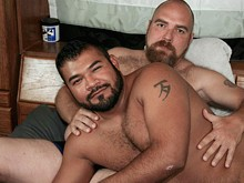 Fatty and hairy men can be full of love and they show their true colors in the free gay bear sex videos