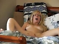 Caught my wife masturbating
