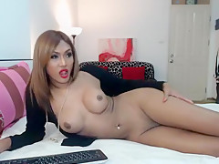 Crazy Homemade Shemale Video With Ladyboys Big...