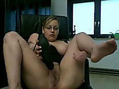 AM Big Titted Girl With Dildo