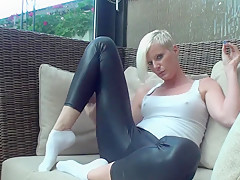 Lackleggings Pussyplay
