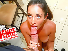Sofia Rivera & Tony D Sergio in Tanned Titties - GRRevenge