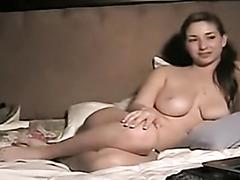 Me masturbating on webcam for Tony
