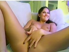 Exotic Homemade record with Brunette, Solo scenes
