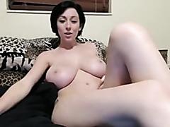 Pale Redhead Milks Monster Cock
