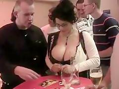 Horny amateur Public porn clip
