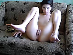 Joint masturbation during sex chat