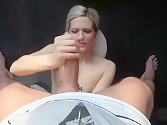 Fabulous homemade Shaved, Blonde adult scene