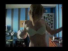 Busty teen's masturbation porn