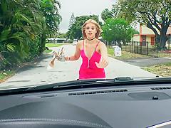Kendall Kross in Grateful Cheater In Lingerie Blows - StrandedTeens