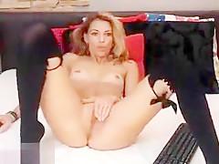 Fabulous amateur Webcam, Lingerie adult scene