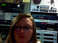 legal age teenager on radiostation mastrubate on webcam afther work