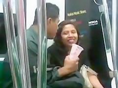 Couple Kissing Open