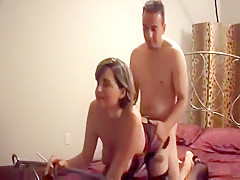 Horny homemade Smoking, Stockings porn scene