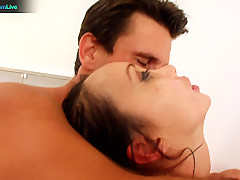 Katsuni loves getting her gaping hole opened wide