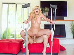 Summer Day in Twerking Blonde Blows Insurance Guy - PervsOnPatrol