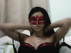 Moreninha peituda safadinha toda gostosa na webcam