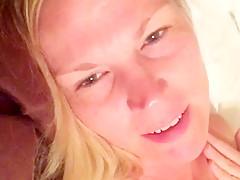 Blonde Wife Fucking & Cums In Her Pussy - JizzPix