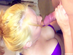 Tattoed Wife Gets Mouth Fucked - WifeBucket