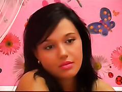 another romanian girl masturbating on cam