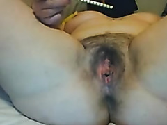 Amateur mature video of me in anal masturbation action