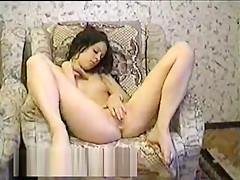 Brunette Teen Slut Plays With Her Cunt