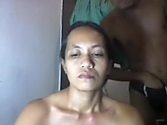 FILIPINA aged SHANELL DANATIL UNDRESSED + PLAYING WITH PENIS