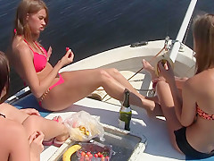 Welcome Aboard Of The Yacht ''lesbos Of The Sea'' Part 3 - RealLesbianExposed