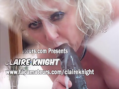 Claire Knight - My very own big black cock