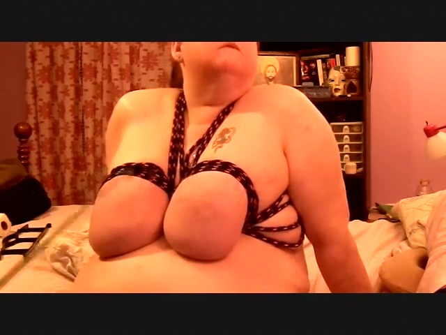 Big tits tied my wives