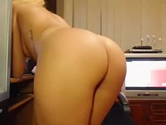 straight, solo, blonde, chaturbate, ass, webcam