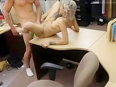 Horny Babe Pounded By Nasty Stranger For Desperate Money