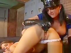 Cop takes her prisoner
