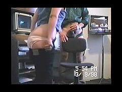Hot Mexican secretary fucks her boss
