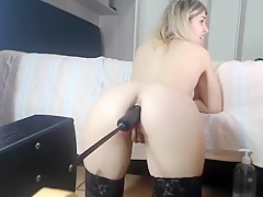 Teen Girl Leighton Loves Hard Ass Toying Part 03