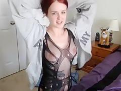 Amateur fetish BDSM action with redhead Part 01