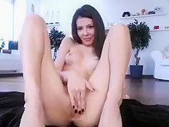 Teen Brunette College Amateur Takes A Huge Dick In The Ass Part 02