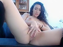 Striptease with big natural boobs babe Part 04