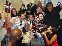DareDorm Movie Scene: Gulp it up