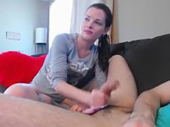 Exotic Amateur video with Brunette, Stockings scenes