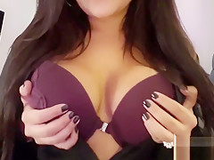 Erotic ASMR Roleplay : Bra Massage with Bouncing Big Tits