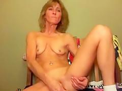 HotBlue4u mature anal dildo from LiveJasmin