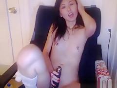 Wet Japan Woman Webcam Flashing
