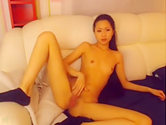 Skinny asian nude