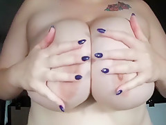 Huge Natural Boobs, Wet T Shirt! Titties Dropped, Bounced  Played With!