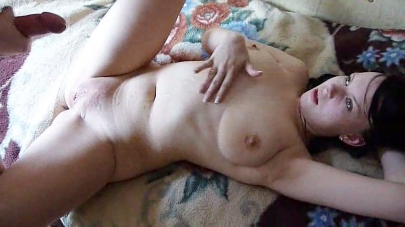 Chubby slut sucking dick