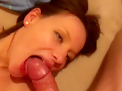 Blowjob, fucking and testing a new toy