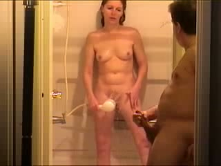 Naked with mother son