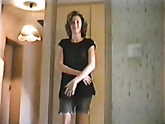 Naught milf blonde amateur strip video