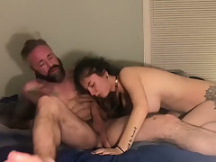 Daddy little slut loves to get fucked and drink cum
